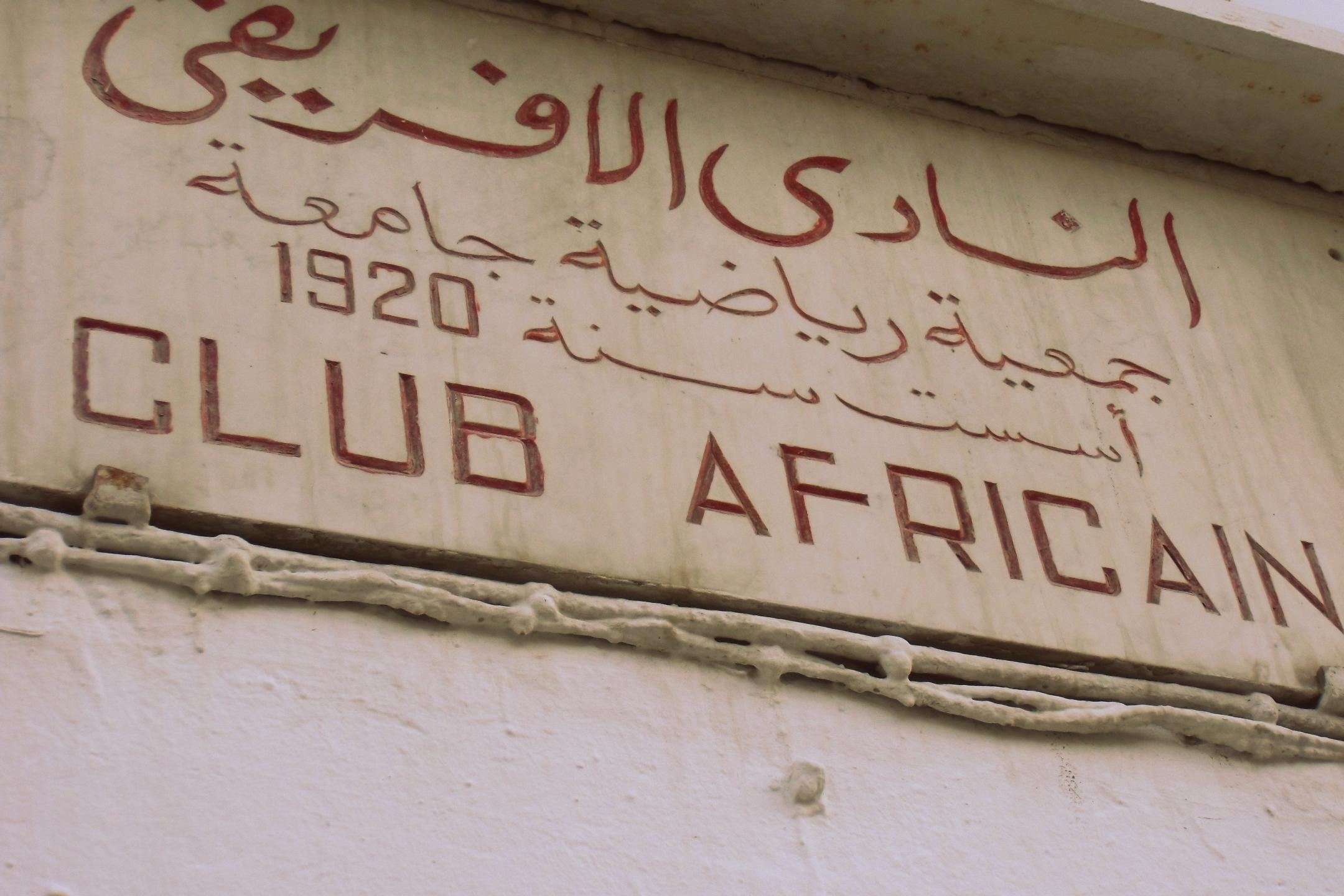 Club Africain - Foto di Alessandro Doranti