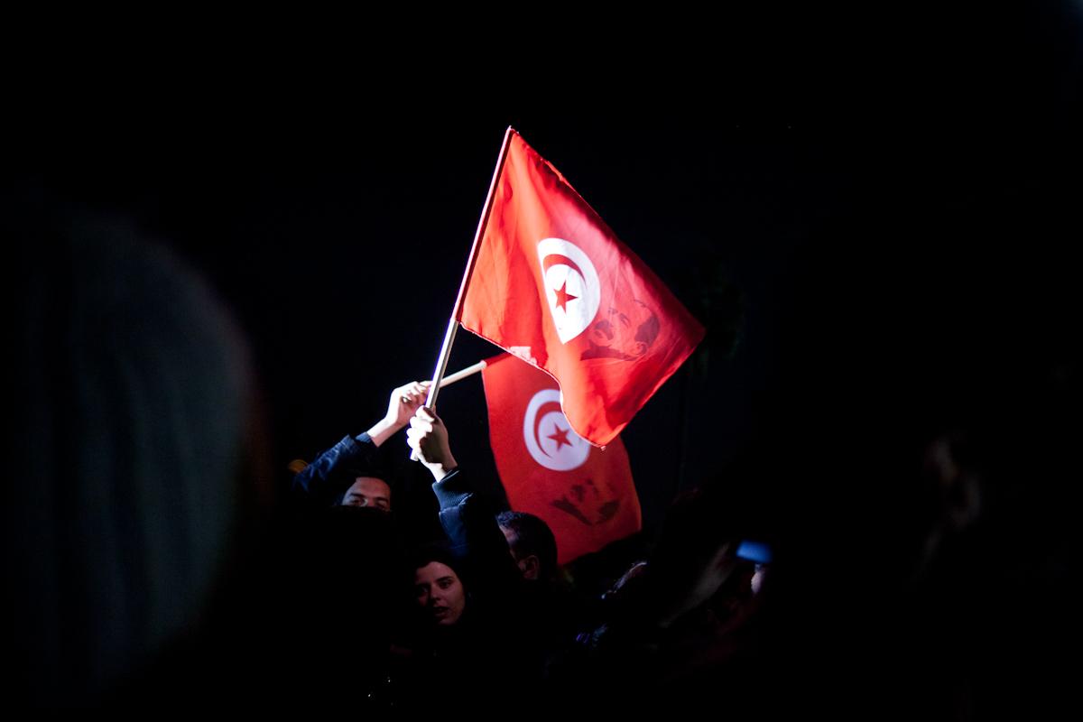 Marcia Social Forum Mondiale Tunisi - Foto di Andrea Galli